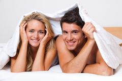 http://www.dreamstime.com/stock-photos-couple-has-fun-bed-laughter-joy-eroticism-image18016963