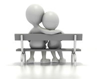 http://www.dreamstime.com/stock-image-couple-sitting-together-park-bench-image12720201