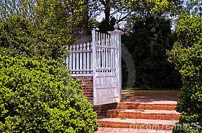 Le couple et le jardin secret